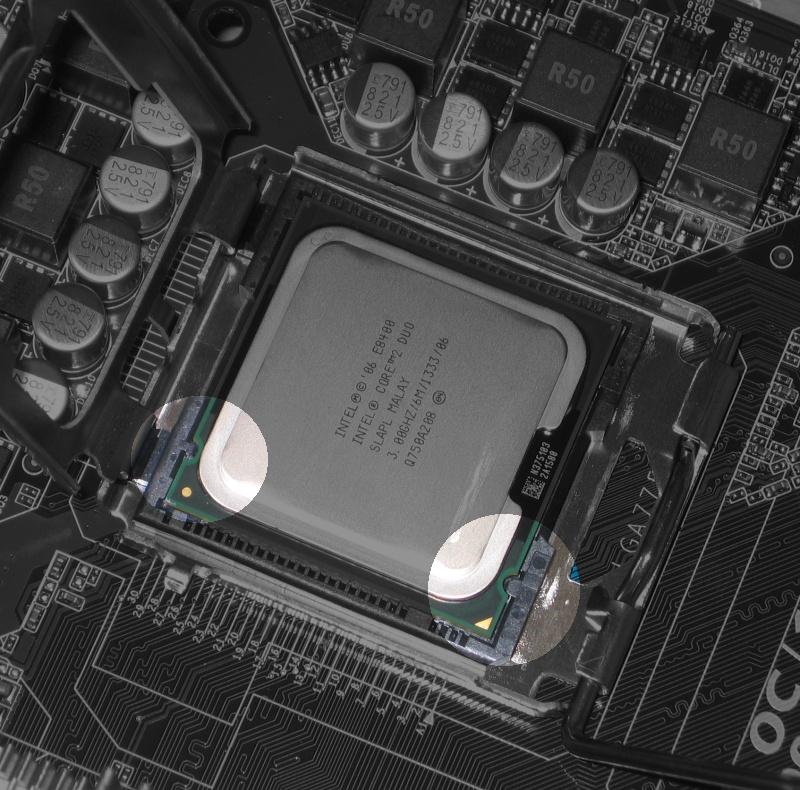 775 06 - Howto: Intel 775 CPU sockeln und boxed Kühler verbauen