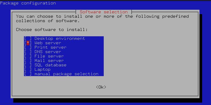 debian slug server1 - Apache, MySL und PHP (LAMP) auf Debian aufsetzen