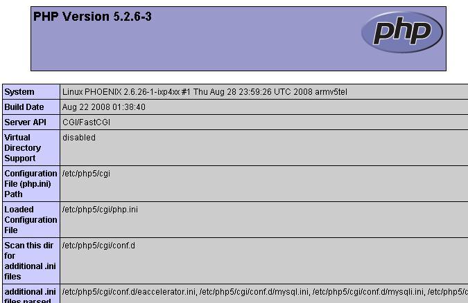 lenny nslu2 - Die NSLU2 als Debian Webserver