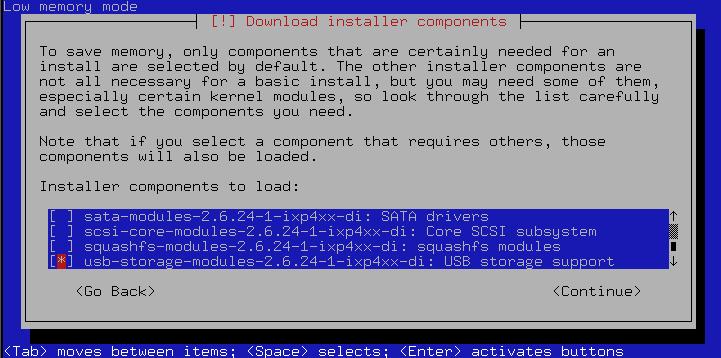 slug debbi05 - Die NSLU2 als Debian Webserver