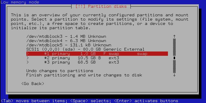 slug debbi12 - Die NSLU2 als Debian Webserver