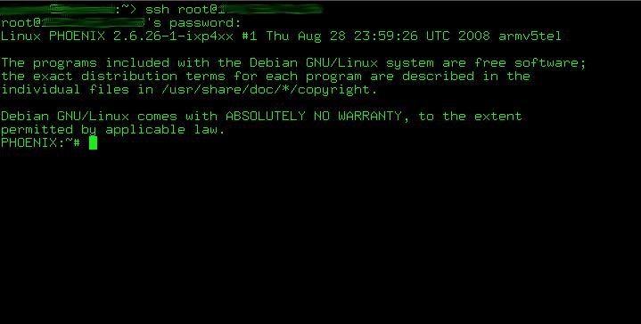 slug debbi33 - Die NSLU2 als Debian Webserver